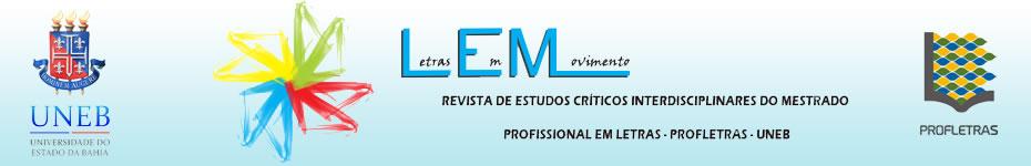 Revisa do Mestrado Profissional em Letras UNEB Campus V