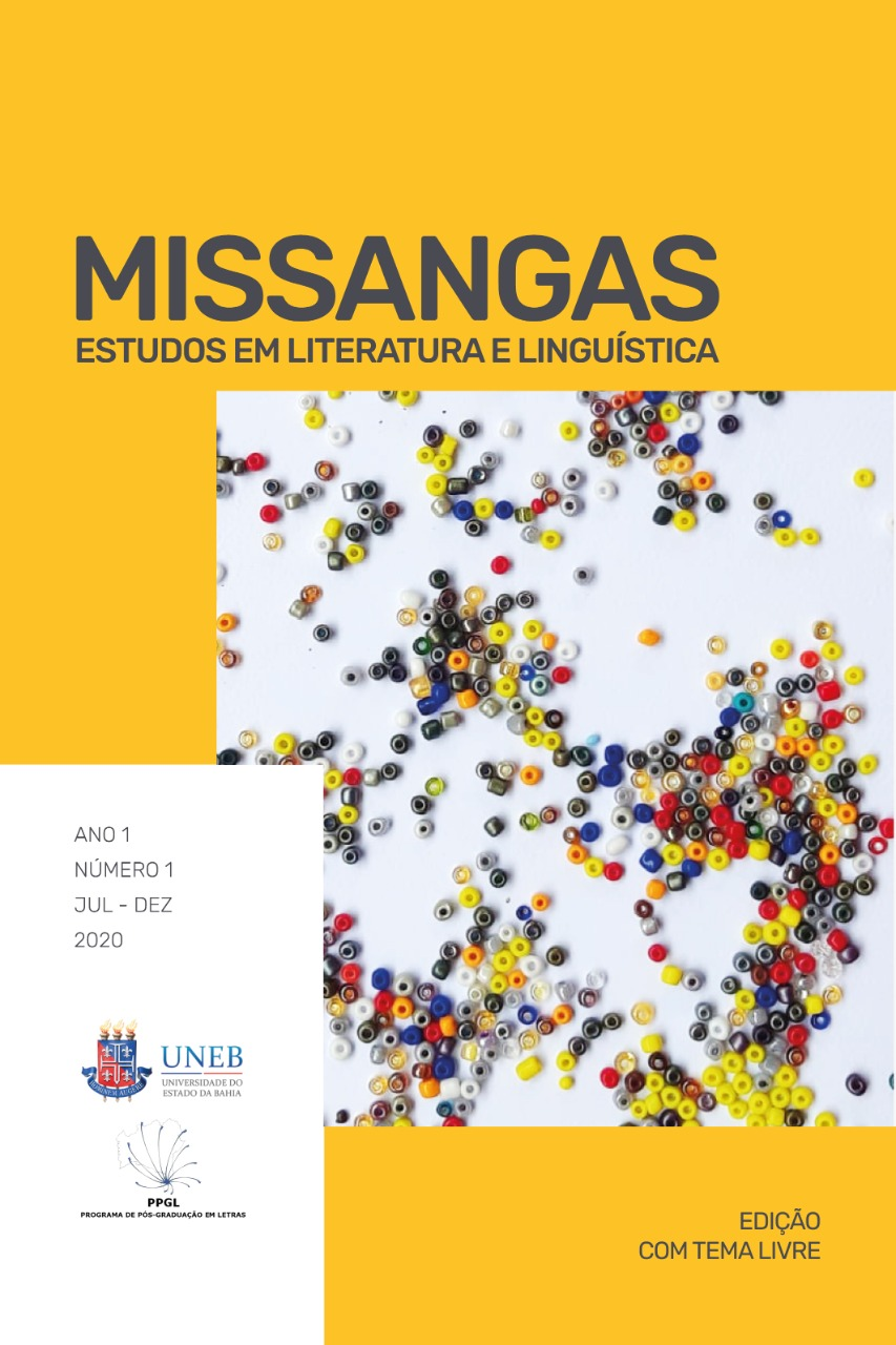 Missangas, v.1, n.1, 2020 - Tema livre